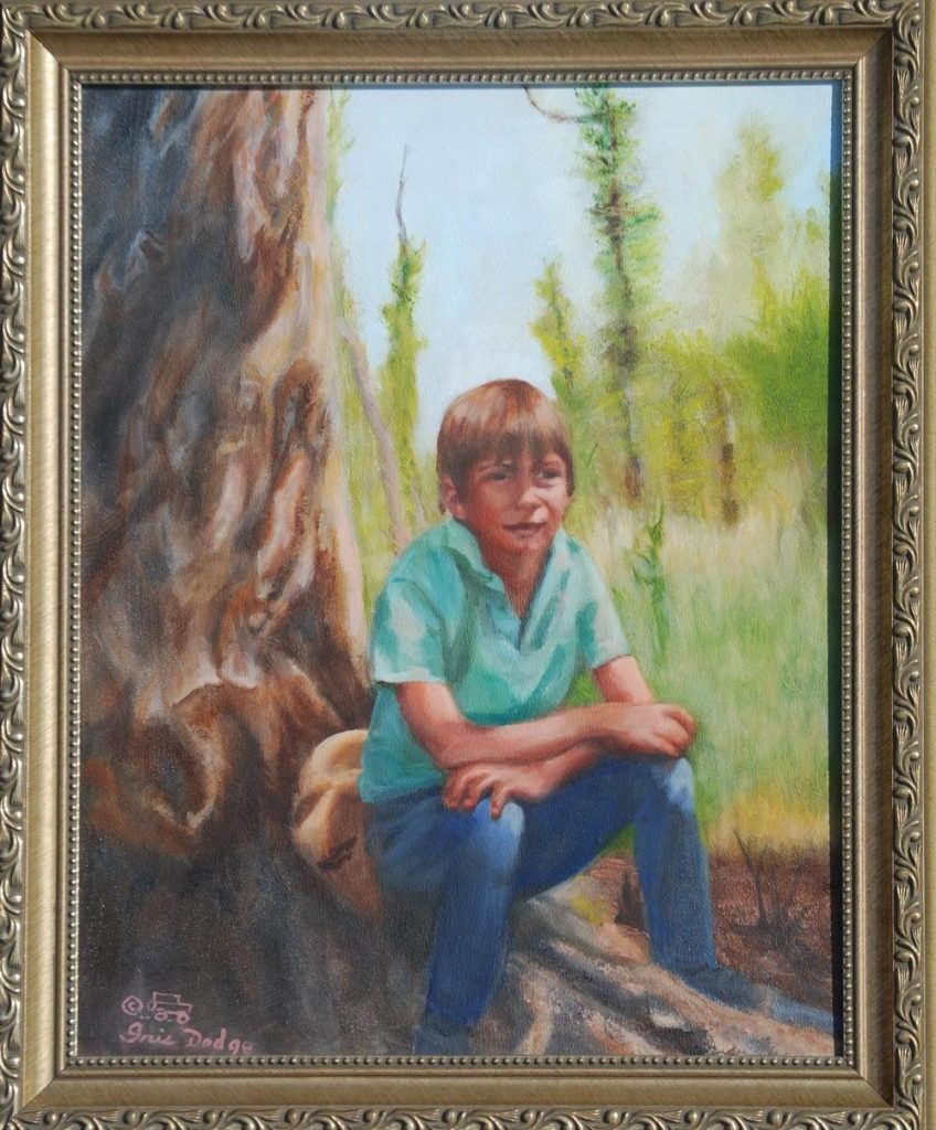 """Albert"" - Original Oil 11"" x 14""  ""Albert"" - Original Sold"