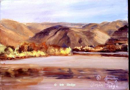 """""""Chief Timothy Park"""" - Original Oil """"Chief Timothy Park""""  Landscape Paintings  Landscape Art"""
