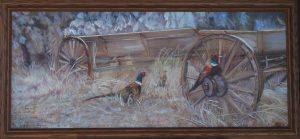 """""""Fall Pheasants At Alpowa"""" """"Fall Pheasants At Alpowa""""  Wildlife Paintings  Wild Things Art"""