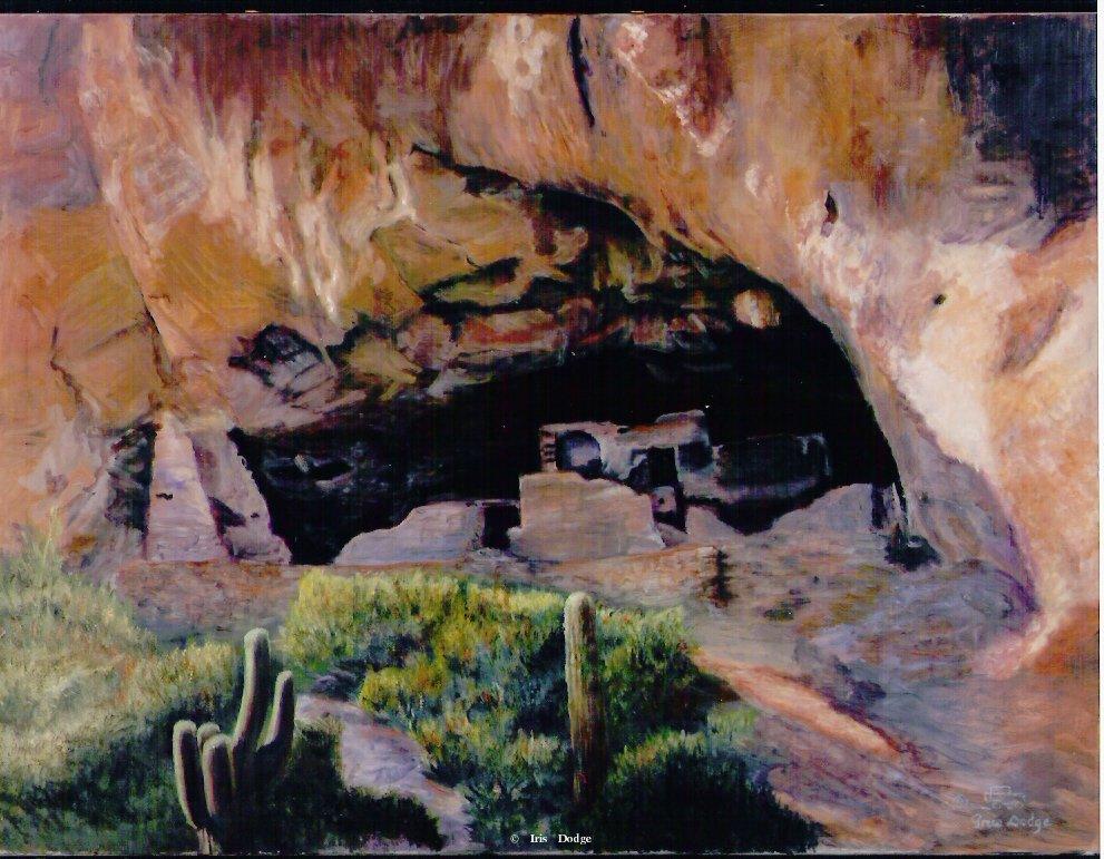 """Hidden Civilization""<br> <font size=2>(100 S/N Limited Edition Prints)</font> ""Hidden Civilization""  Landscape Paintings  Landscape Art"