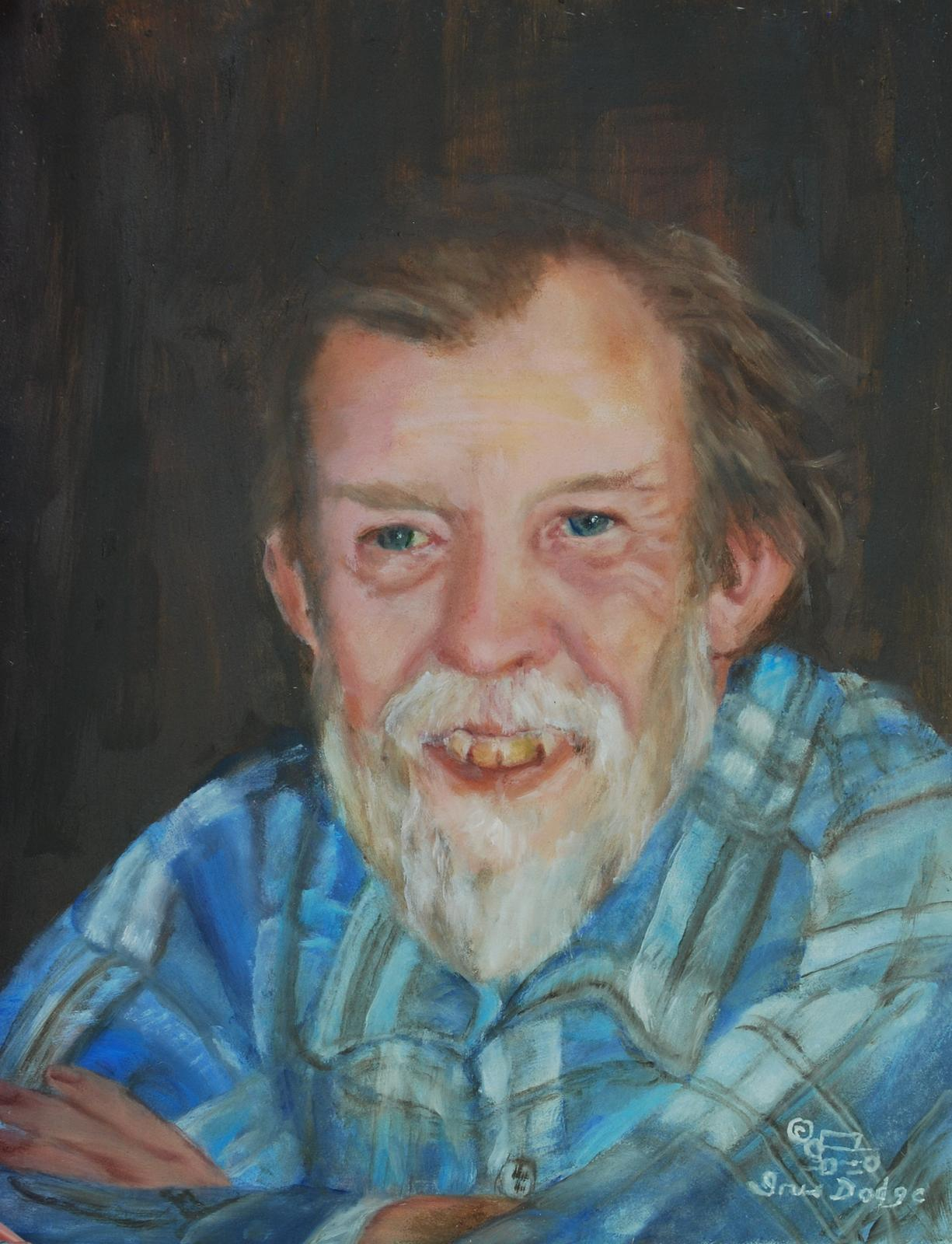 """John Ellington"" - Original Oil 12"" x 16"" ""John Ellington"""