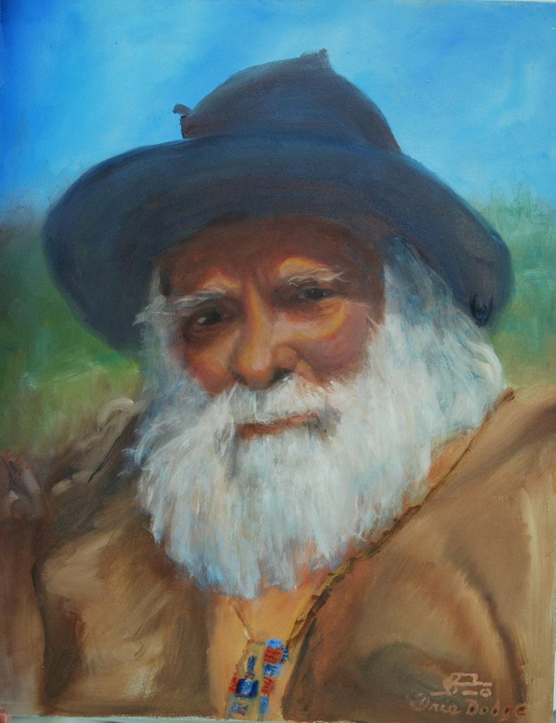"""Mountain Man"" (John Stapler) <br>Original 12"" X 16"" ""John Stapler"""