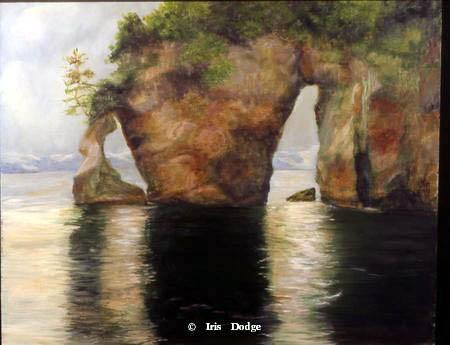 """""""Kenai Fjord""""<br>16 X 20 Original Oil  """"Kenai Fjord""""  Landscape Paintings  Landscape Art"""