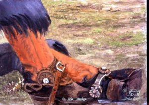 """The Coffee Break""<br><font color=""red"">SOLD</font> ""The Coffee Break""  Western Paintings  Cowboy Poetry"
