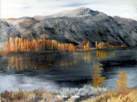 """""""Wenatchee""""  - original oil 11"""" x 14""""<br> <font size=2>(50 S/N Limited Edition Prints) </font> """"Wenatchee""""  Landscape Paintings  Landscape Art"""